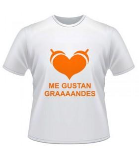 Camiseta Me Gustan Grandes