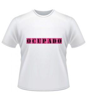 Camiseta Despedida Ocupado