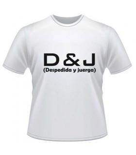 Camiseta Despedida D&J