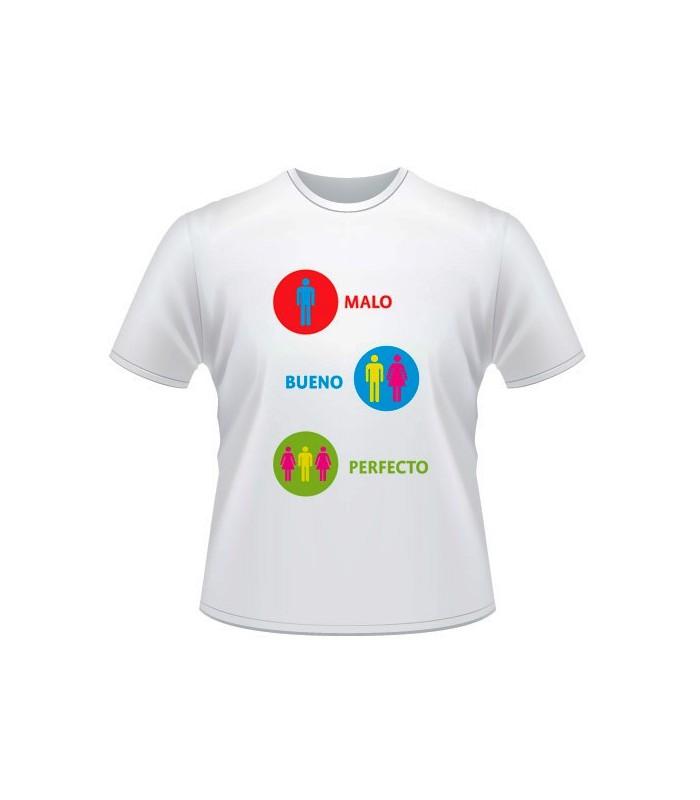 Camiseta Despedida Malo-Bueno-Perfecto