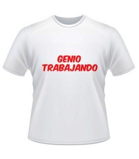 Camiseta Despedida Genio Trabajando
