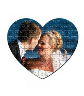 Puzzle Corazón Personalizado 19x19 cm