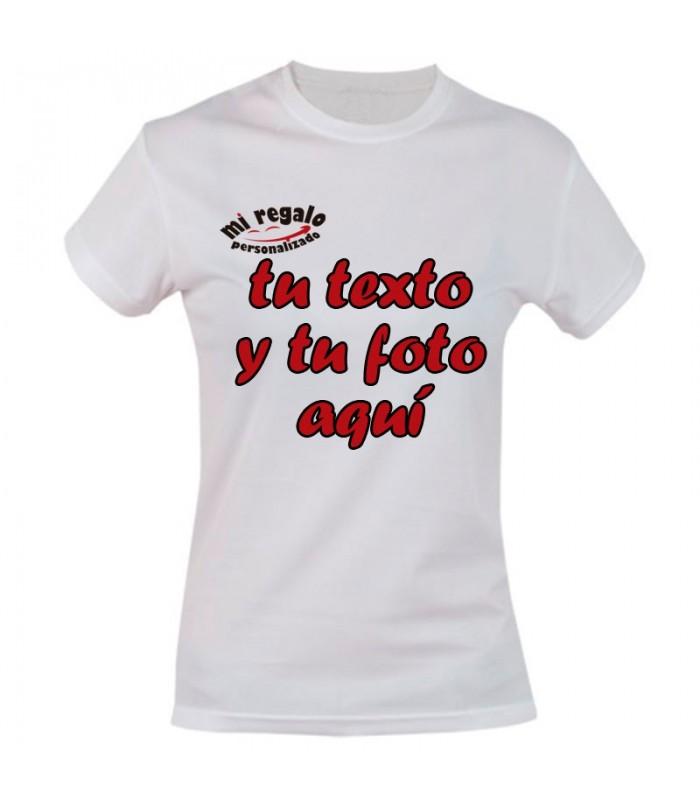 Camiseta de Mujer Personalizada a Todo Color
