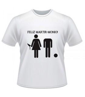 Camiseta Despedida Feliz Martimonio