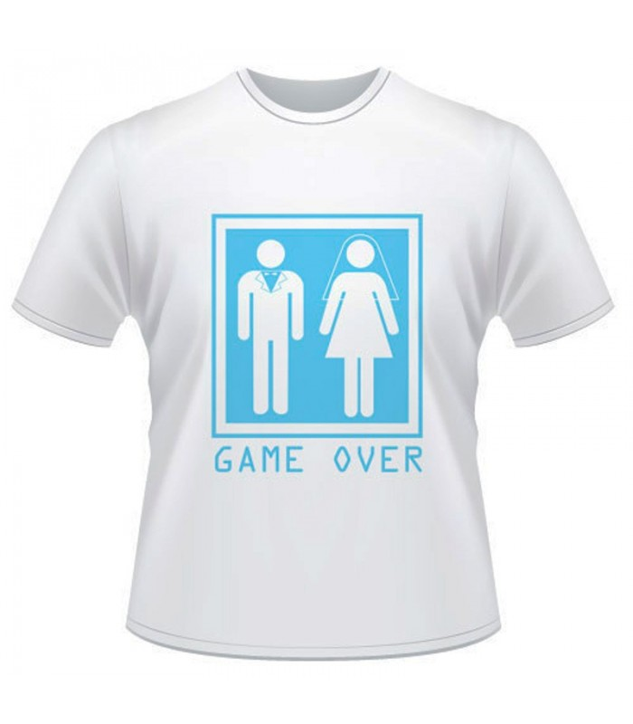 Camiseta Despedida Game Over