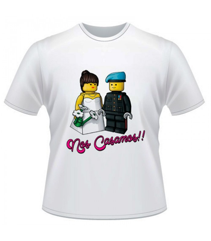Camiseta Despedida Nos Casamos